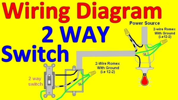 How To Install 2 Way Switch