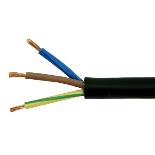 300 500v 3x2 5mm2 Flexible Wire Power Electrical Cable 3 Core