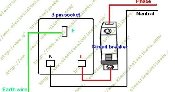 3 Pin Socket Wiring Diagram