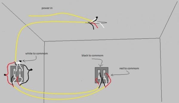 3 Way Fan Light Switch Wiring