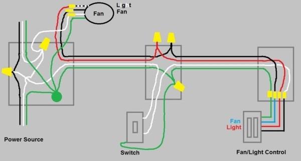 3 Way Fan Light Wiring Diagram