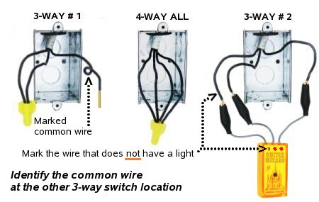 3 Way Switch Only 2 Wires