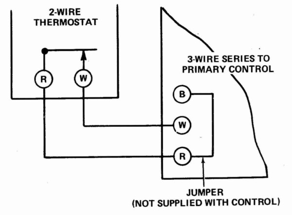 3 Wire Thermostat Heat Only