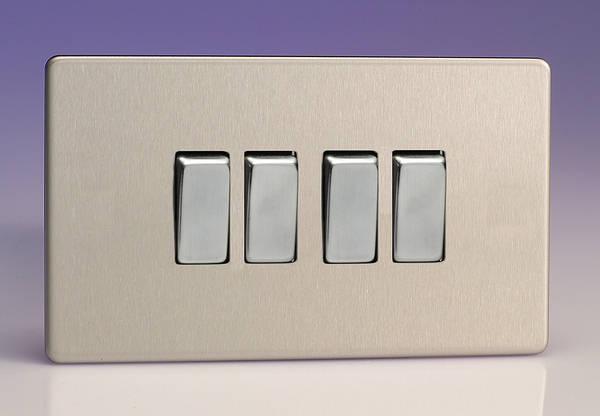 4 Gang 2 Way Light Switch