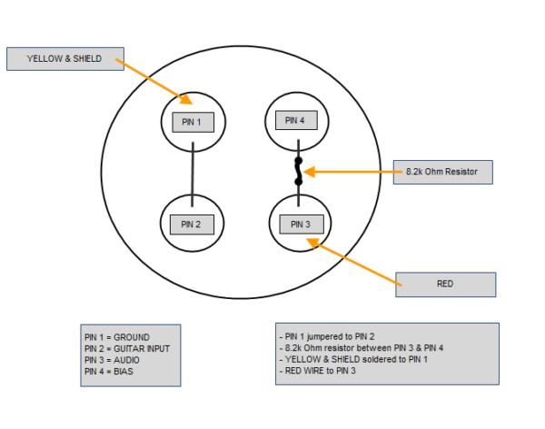 4 Pin Wire Diagram