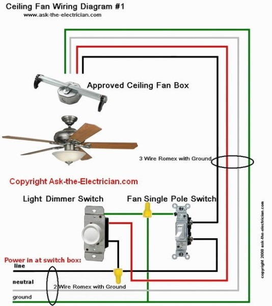 4 Wire Fan Wiring Diagram
