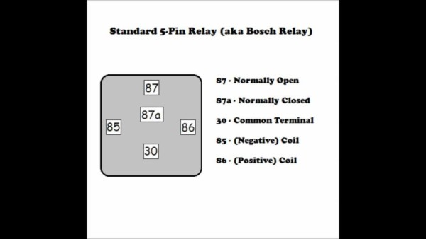 5 Prong Relay Diagram