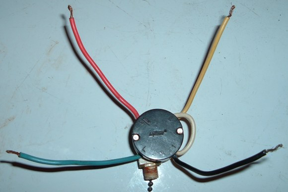 5 Wire Ceiling Fan Pull Chain Switch