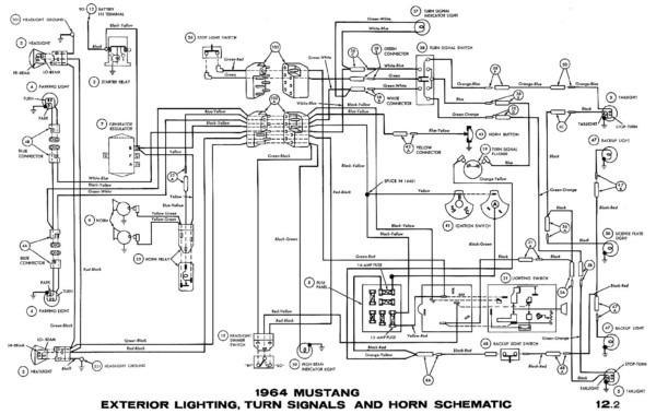 66 Mustang Wiper Wiring Diagram