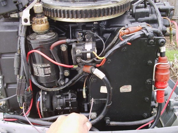 70 Hp Evinrude Problems ( Pics