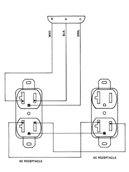 Wiring A Quad Outlet Diagram