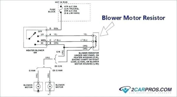 Ac Blower Wiring