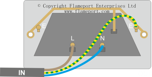 Socket Wiring Diagram