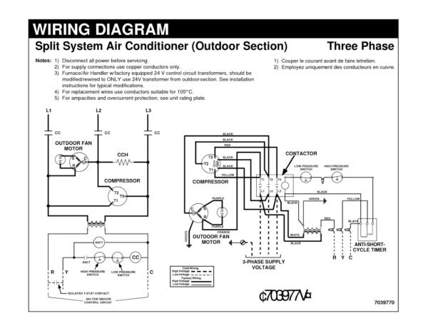 Air Conditioner Wiring Diagrams