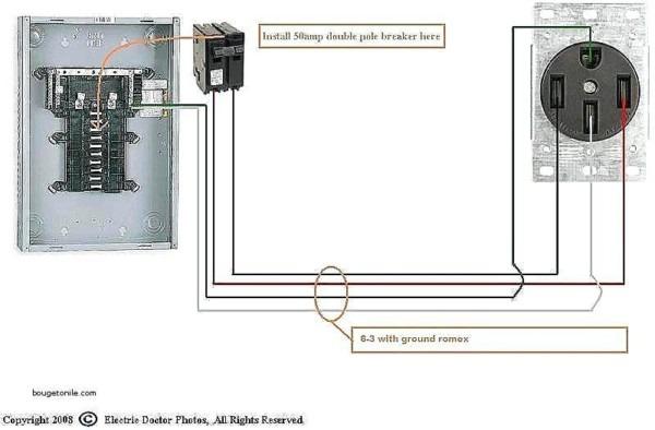 Amazing 220v 30 Amp Plug Amp Receptacle Wiring Amp Receptacle