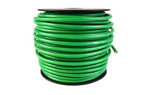 Amazon Com  10 Gauge Awg Green Ground Wire 100 Ft Solid Copper Ul