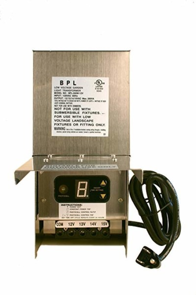 Amazon Com   300w Low Voltage Landscape Light Transformer 12v