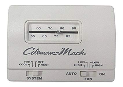 Amazon Com  Coleman Rv Camper Mach Manual Thermostat  Automotive