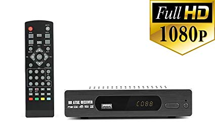 Amazon Com  Digital Dtv Converter Box For Recording And Viewing