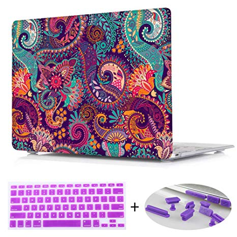 Amazon Com  Print Crystal Hard Shell Cover Case With Purple