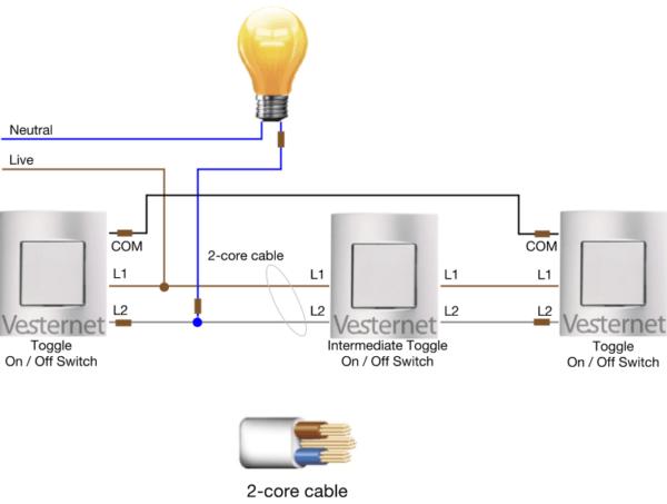 3 Way Intermediate Switch