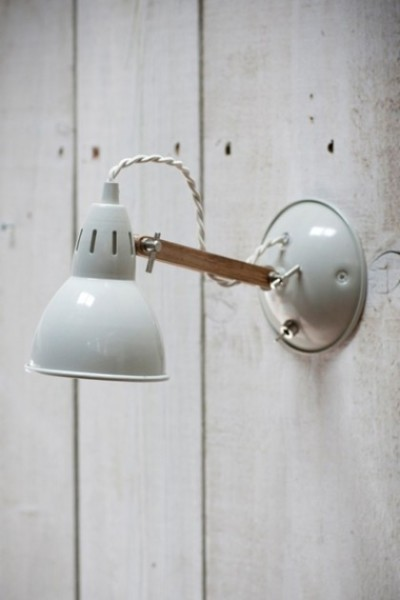 Arm Wall Light In Stone With Switch Regarding Plan 11