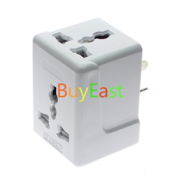 Australia, New Zealand, China 3 Way Outlet Ac Power Adapter 10a