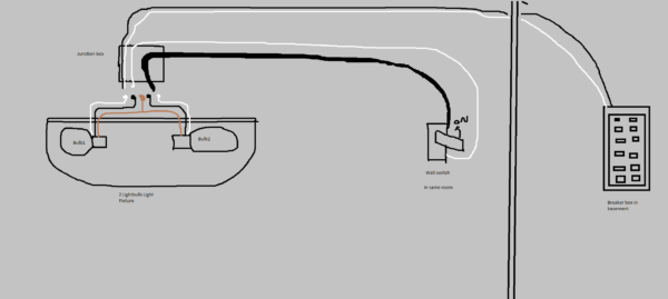 Black And White Wiring Diagram