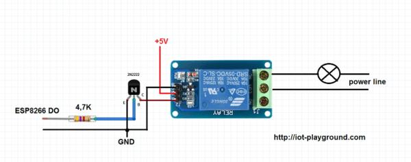 Building An Esp8266 Internet Connected Four