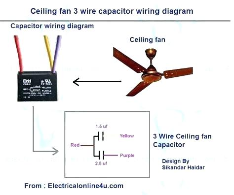 Ceiling Fan Capacitor Circuit Diagram