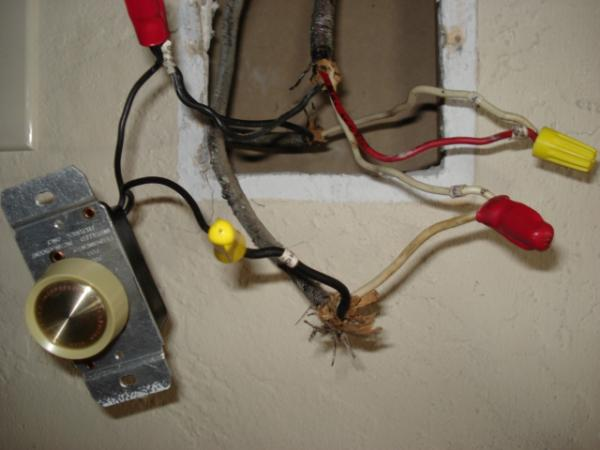 Ceiling Fan W Cfl And Dimmer Switch