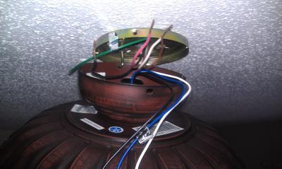 Ceiling Fan Wiring Question