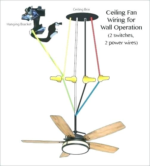 Ceiling Fan Wiring Red Black And White