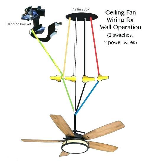 Ceiling Fan Wiring Red Wire