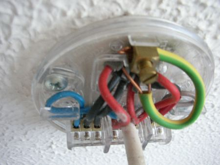 Changing A Light Fitting