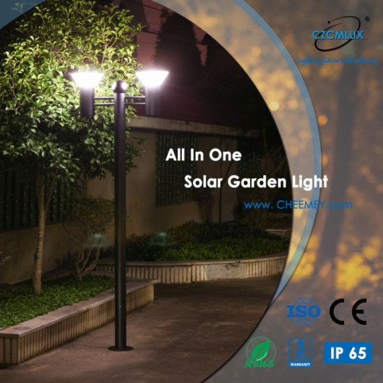 China Ip65 Easy Installation Solar Garden Lights With Lifepo4
