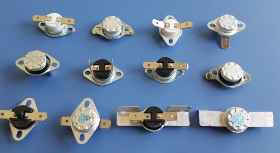 China Ksd206 Bimetal Thermostat Oil Heater Liquid Expansion