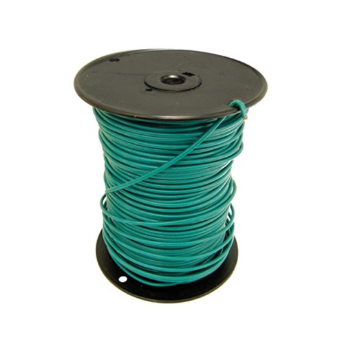 Copper Ground Wire,10 Awg, Green Jacket, Directv Approved