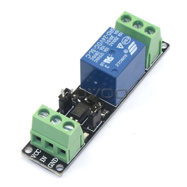 Dc 24v Relay Module Relay Switch Low High Voltage Control For
