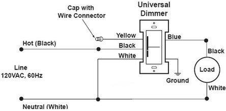 Dimmer Wire Diagram