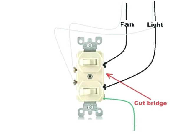 How To Wire A Dual Light Switch
