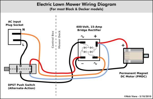 Double Pole Switch Diagram