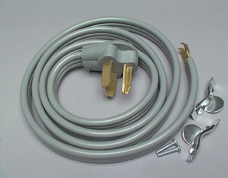 Dryer Parts Acc  10 Ft  Foot 4 Prong Dryer Cord