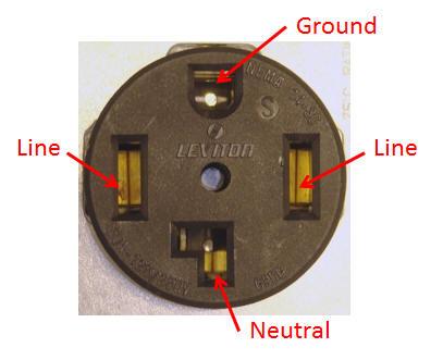 Dryer Plug Diagram