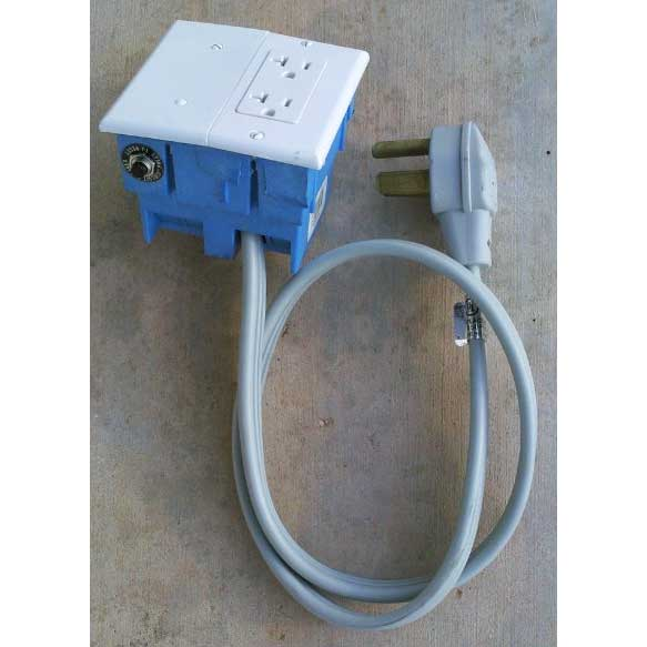 Electrical Converter Twin Pack One 3 Wire 30 Amp And One 4 Wire