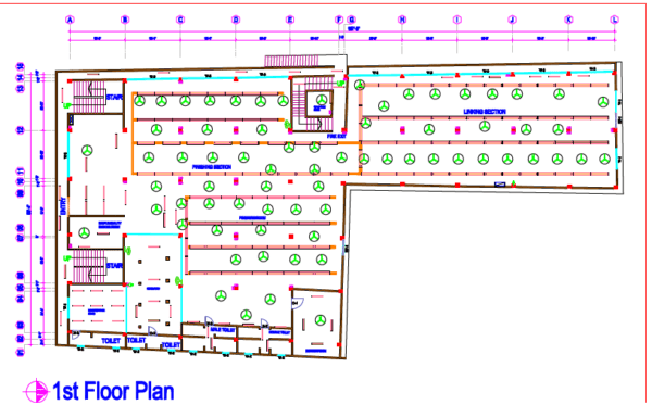 Electrical Layout Diagram – Safety Consultants Bd