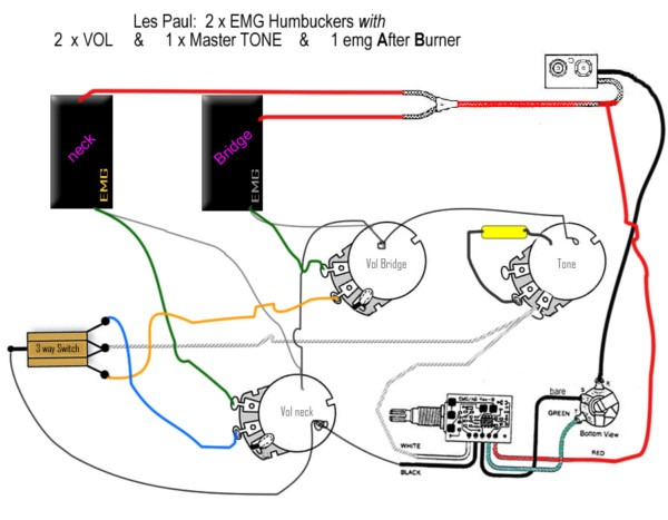 on h2a emg pickup wiring diagrams
