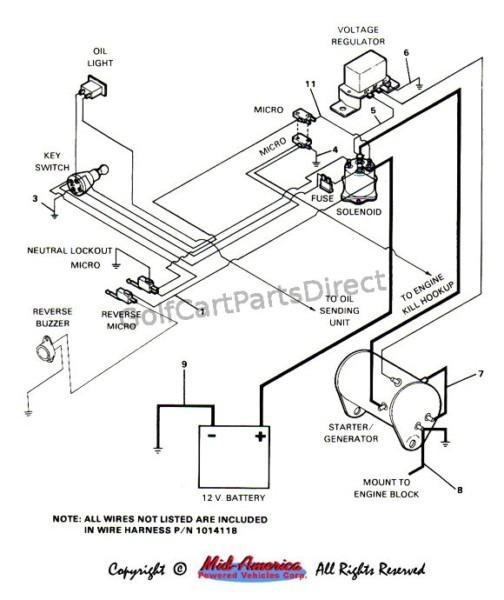 1998 Ezgo Gas Wiring Diagram Light
