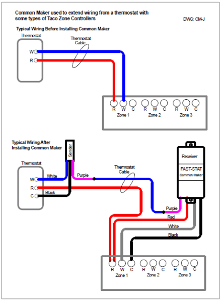 2 Wire Thermostat Diagram