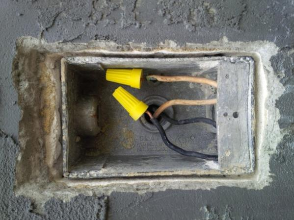 Fix Or Replace Electrical Outlet Box